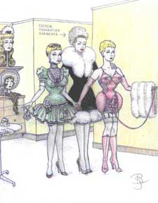 New slave scanned and packed for mistress Part 3